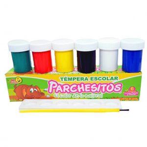 Temperas-Parchesitos- CAJA-por-6