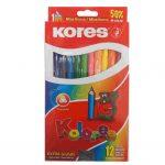 100712P Colores Korex Jumbo caja x 12 – Almacenes Romulo Montes