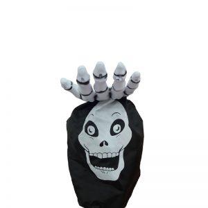 Bolsa Para Dulces Halloween Con Palo Forma Mano